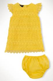 ralph baby lemondrop tiered lace dress from louisiana by