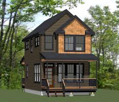 Tiny Two Story House | two story tiny house plan tiny house cabins montana houses