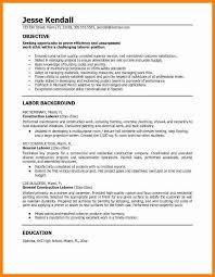 14 construction worker resume how to make a cv