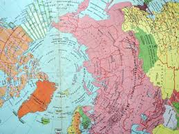 World Map 1950 1950 Large Vintage Political Map Of The Northern Hemisphere