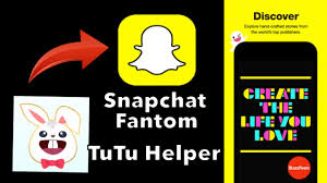 new snap chat fantom application for ios 10 no jb no pc