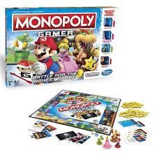 super mario monopoly gamer game toys