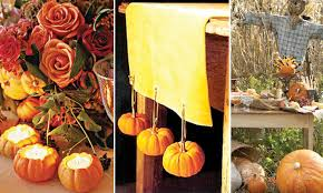 Cocktail Parties Ideas - fall and autumn theme parties and wedding ideas