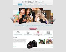 free photography website templates phpjabbers