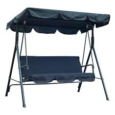 Free Standing Canopy Patio Patio Swing With Canopy Red Free Standing Porch Swing Three Person