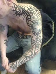 arm tattoos tribal sleeve images for and