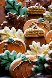Halloween Decorated Sugar Cookies 78 Best Thanksgiving And Fall Royal Icing Cookies Images On