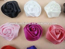 satin roses 1 5 mini satin roses flowers custom decorative flowers for baby
