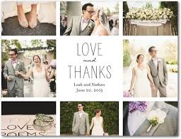wedding thank you cards awesome thank you cards with pictures for