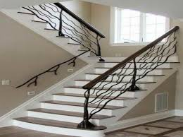 Metal Stair Rails And Banisters 52 Best Aluminum Stair Rails Images On Pinterest Stairs