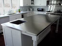 kitchen island with stainless top kitchen islands mobile kitchen island table metal cart stainless