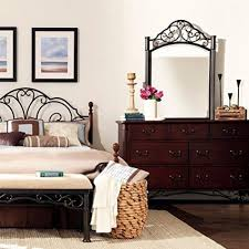 Antique Style Bed Frame Buy Antique Style Metal Bed Frame Cherry Bronze Finish