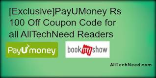 step by step payumoney 100 rs movie voucher for bookmyshow fastticket