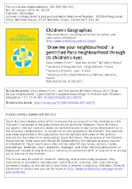 PDF Growing Up in Amsterdam Differentiation and Segregation in