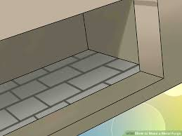 Fer Forge Stairs Design How To Make A Metal Forge 11 Steps With Pictures Wikihow