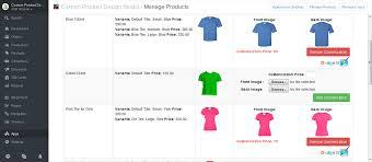 tshirt product design studio ecommerce plugins for