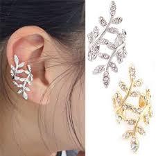 clip on earrings malaysia ear cuff silver clip earrings clip women non pierced