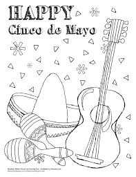 cinco de mayo coloring pages 15238