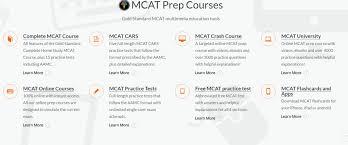 gold standard mcat prep courses