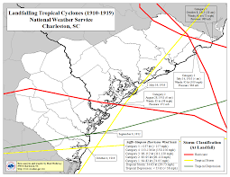 Map Of Southeast America by Tropical Cyclone History For Southeast South Carolina And Northern