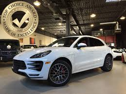 porsche macan turbo white used 2015 porsche macan for sale toronto on