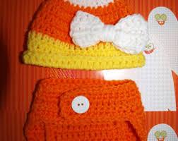 Candy Corn Halloween Costumes Newborn Candy Corn Etsy