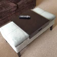 Coffee Table Ottoman Combination 36 Top Brown Leather Ottoman Coffee Tables Within Table