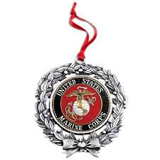 sales inc us marine corps sublimated wreath ornament