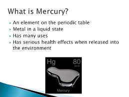 Periodic Table Mercury Water Pollution Mercury Ppt Online Download