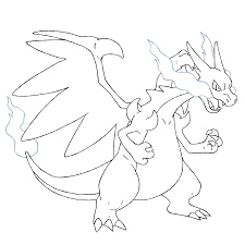 pokemon coloring pages mega charizard ex thehungergames biz