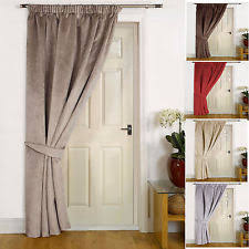 Door Draft Curtain Winter Curtains Ebay