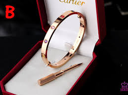 love bracelet rose gold images Cartier love bracelet rose gold with colorful stones jewelry jpg