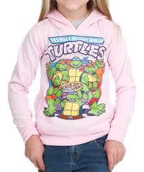 tmnt pizza time pink hoodie