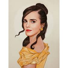 check sketch emma watson belle u0027beauty