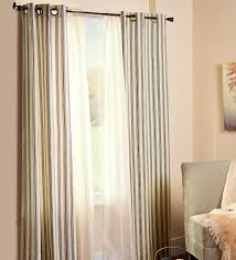 Beautiful Window Curtain Designs Decorations Energy Efficient Insulated Solid Grommet Top