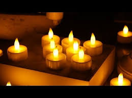 where to buy battery tea lights 20 battery operated led flickering tea light candles fl 1976 youtube
