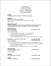 Sample Resume Curriculum Vitae by Curriculum Vitae Template For Psychologist Free Samples