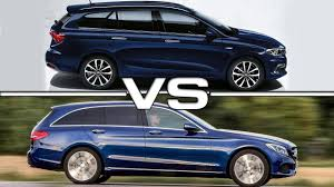 mercedes c class station wagon fiat tipo station wagon vs mercedes c class estate