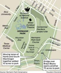 Houston Metro Map by Hermann Park Map Map Of Hermann Park Texas Usa