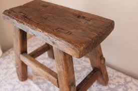 Bench Indoor Furniture Vintage Small Wooden Bench Design Photo Nice Small