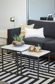 creative versions of the usual living room coffee table nested