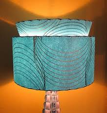 retromod design fiberglass lamp shade gallery
