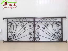ou wrought iron fence railing of the balcony fence stair