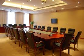 Modular Conference Table System Interior Designs Adorable Cream Theme Office Meeting Room Interior