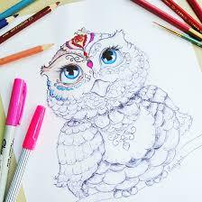 free printable owl coloring page u2014 printable decor