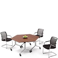 Portable Meeting Table City Trapezium Portable Folding Meeting Table Hsi Office