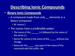 naming compounds and writing formulas ppt video online download