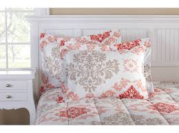 bedding set white bedding beautiful grey and peach bedding color