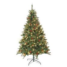 pre lit trees seasonal decor for less overstock