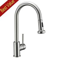 sink kitchen faucet avola solid brass sink kitchen faucet brushed nickel 1 lever